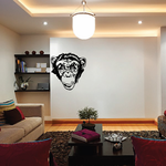 Smiling Monkey Decal