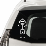 Boy Sunglasses Decal
