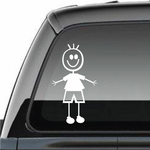 Boy Clothed Decal
