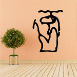 Egyptian Hieroglyphics Seated Official Decal