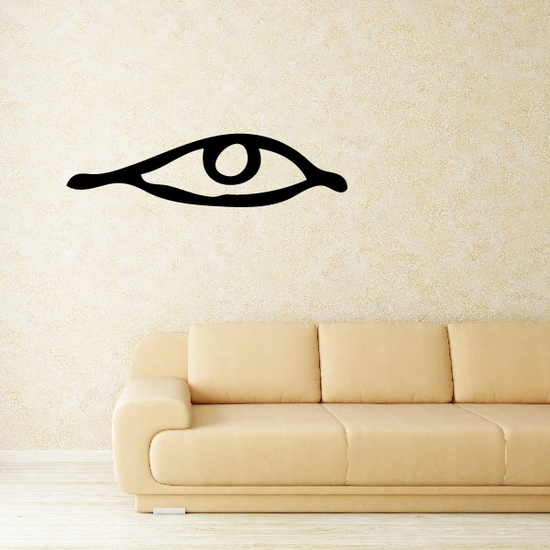 Egyptian Hieroglyphics Eye Looking Right Decal
