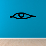 Egyptian Hieroglyphics Eye Looking Left Decal