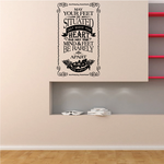 May your feet be situated Irish Blessing Decal