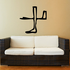 Egyptian Hieroglyphics Bent Arm and Foot Decal