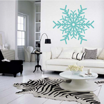 Intricate Snowflake Decal