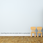 Once Play-Doh colors are mixed, there's no going back Wall Decal