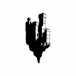 Floating Castle Decal