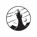 Spooky Tower Castle Decal