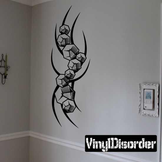 Tattoo Wall Decal - Vinyl Decal - Car Decal - DC 23048