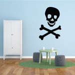 Pirate Skull and Crossbones Decal