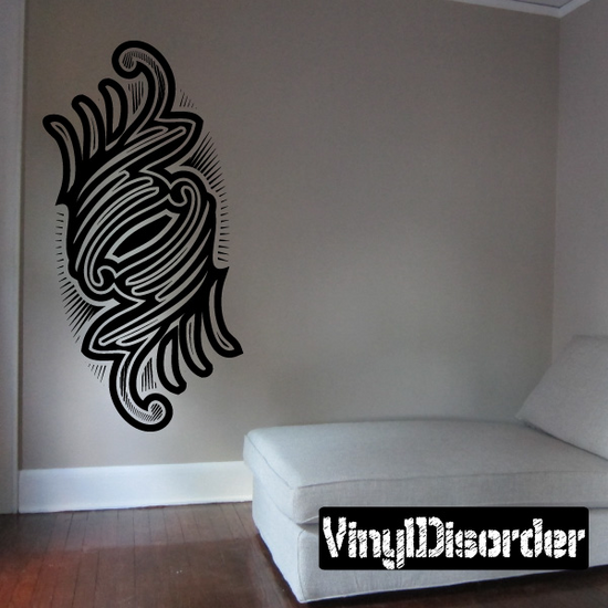 Tattoo Wall Decal - Vinyl Decal - Car Decal - DC 23064