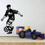 Soccer Wall Decal - Vinyl Decal - Car Decal - CDS086