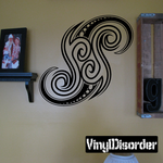 Tattoo Wall Decal - Vinyl Decal - Car Decal - DC 23080