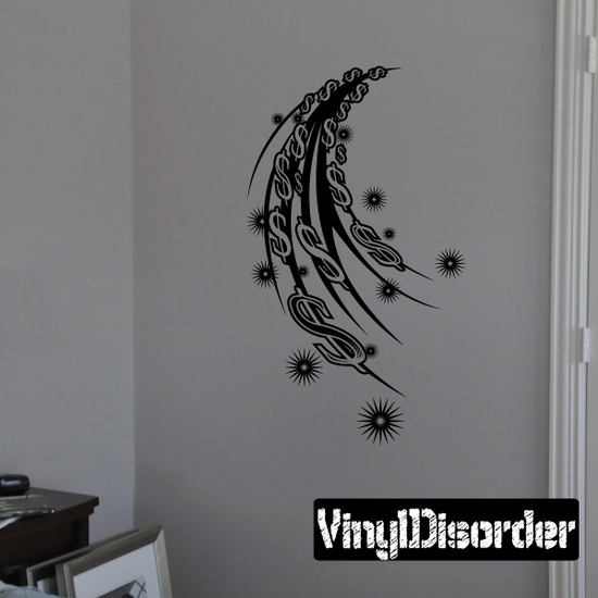 Tattoo Wall Decal - Vinyl Decal - Car Decal - DC 23102