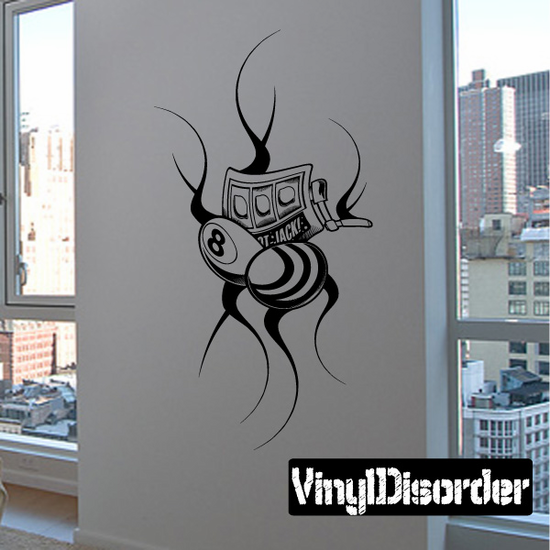 Tattoo Wall Decal - Vinyl Decal - Car Decal - DC 23112