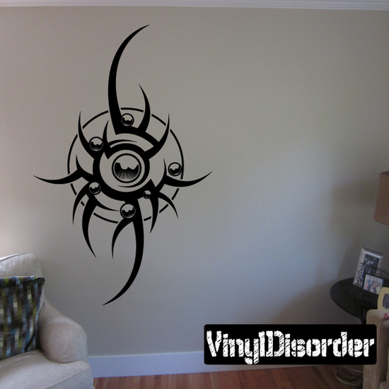 Tattoo Wall Decal - Vinyl Decal - Car Decal - DC 23139