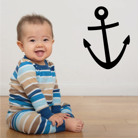 Ships Anchor Decal