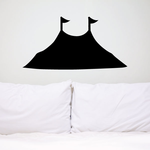 Circus Tent Silhouette Decal