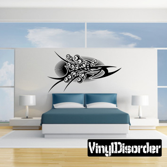 Tattoo Wall Decal - Vinyl Decal - Car Decal - DC 23153