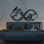 Infinity Wolf and Deer Decal