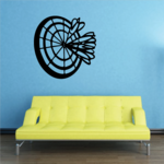 Darts Wall Decal - Vinyl Decal - Car Decal - CDS009
