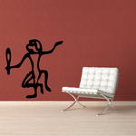 Egyptian Hieroglyphics Dancing Dog Decal