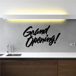 Grand Opening Wall Decal - Vinyl Decal - Car Decal - Business Sign - MC340