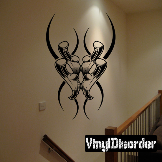 Tattoo Wall Decal - Vinyl Decal - Car Decal - DC 23223