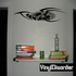 Tattoo Wall Decal - Vinyl Decal - Car Decal - DC 23228