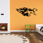 Blazing Trail Timber Wolf Decal