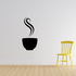 Steamy Cup of Coffee Decal
