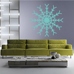 Spectral Snowflake Decal