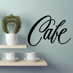 Cafe Wall Decal - Vinyl Decal - Car Decal - Business Sign - MC375