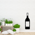 Hanukkah Wine Bottle Decal