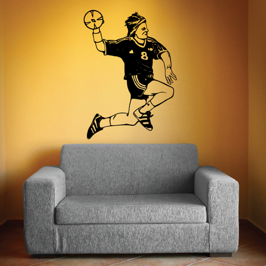 Soccer Wall Decal - Vinyl Decal - Car Decal - CDS141