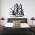 Large Pirate Ship Decal