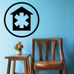 Hospital Urgent Care Wall Decal - Vinyl Decal - Car Decal - Business Sign - MC392