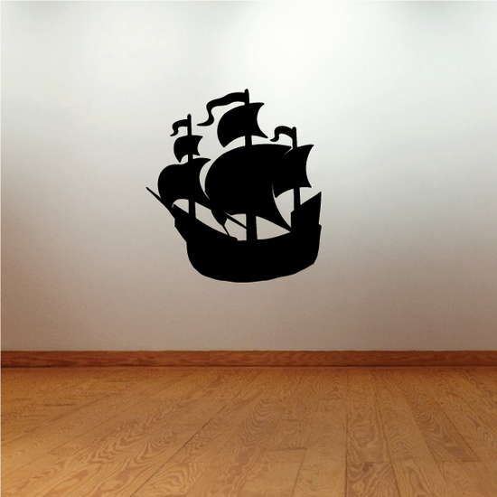 Pirate Ship Charging Decal