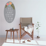 Be Still And Know That I Am God Sticker