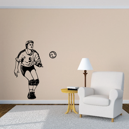 Soccer Wall Decal - Vinyl Decal - Car Decal - CDS171