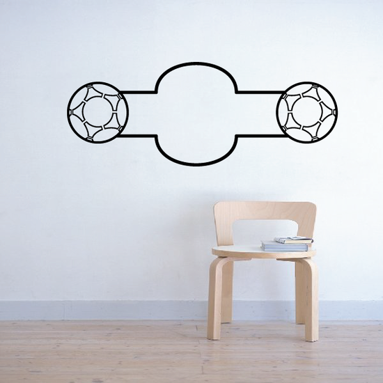 Soccer Wall Decal - Vinyl Decal - Car Decal - CDS180