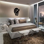 Bold Bison Head Decal