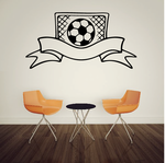 Soccer Wall Decal - Vinyl Decal - Car Decal - CDS190