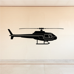 News Helicopter Decal