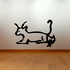 Egyptian Hieroglyphics Seated Creature Decal