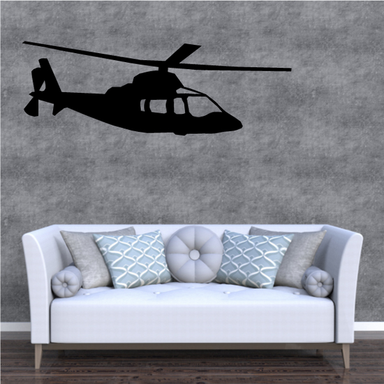 Luxury Helicopter Decal