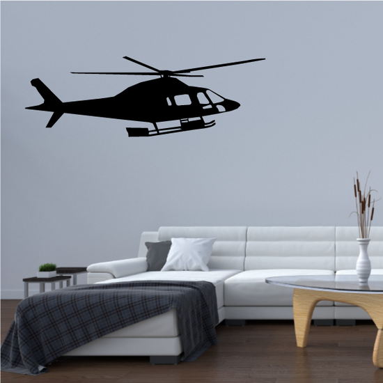 OH-58 Kiowa Scouting Helicopter Decal