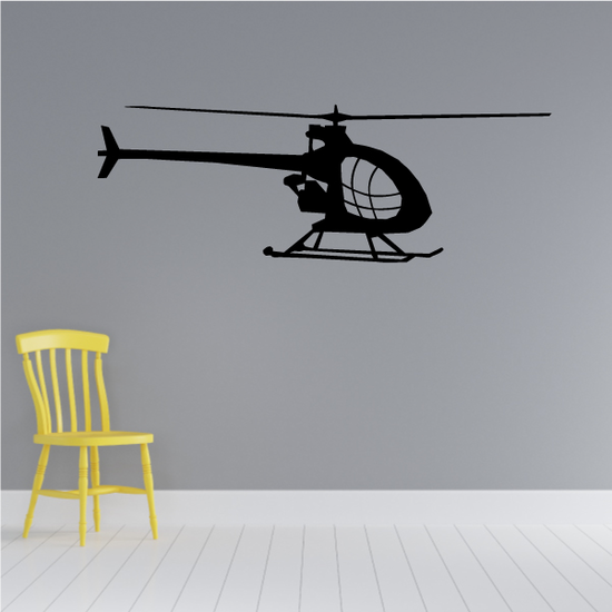 Scout Helicopter Decal
