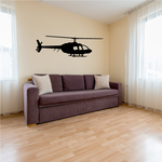 Police Helicopter Decal