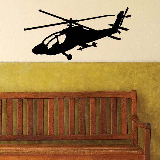 AH-64 Apache Helicopter Decal